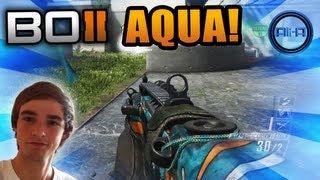 aqua swarm black ops 2 live w ali a new camo dlc cod bo2 multiplayer gameplay
