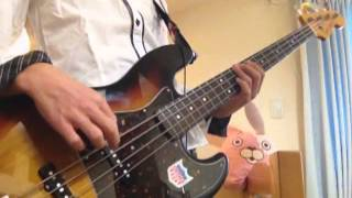 Maximum the Hormone 「F」 【Bass Cover】 マキシマムザホルモンの「F...