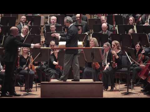 Conductor Fabio Luisi Leading Dallas Symphony in Strauss' Ein Heldenleben