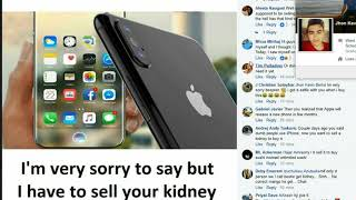 iPhone 8 facebook reactions | iphone x funny comments