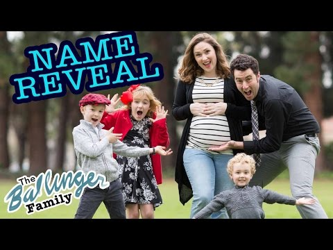 Baby Name Reveal - Ballinger Family