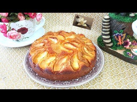 gâteau-moelleux-aux-pommes🍏/appel-🍎cake-recipe/كيك-التفاح-سهل-و-سريع-التحضير