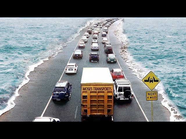 شاهد الطرق الأكثر رعباً في العالم , لن تجرؤ على عبور هذا الطريق الى اذا كنت أفضل السائقين في العالم