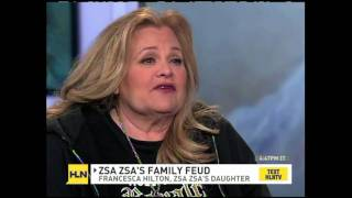 Alan Duke on HLN with exclusive Zsa Zsa Gabor coverage