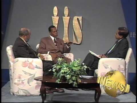 W. Deen Mohammed and Louis Farrakhan: Historic Interview