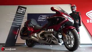 Mise en main Honda Goldwing DCT 2019