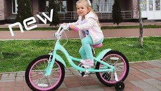VLOG Диана катается на новом велосипеде PRIDE AMELIA