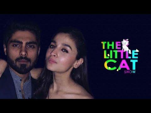 Alia Bhatt Parties With Ex-Boyfriend Ali Dadarkar | The Little Cat Show