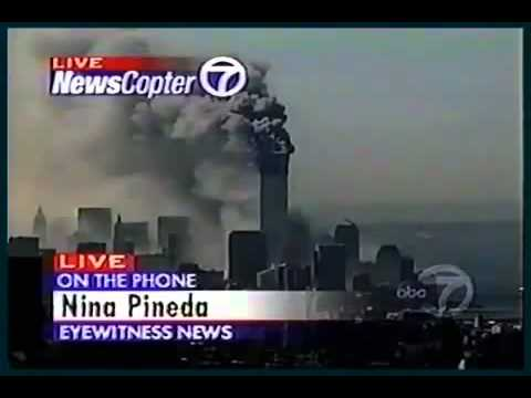911FILES  Eyewitness Reporter Nina Pineda - Ground Shaking Like An Earthquake And A Booming Sound.