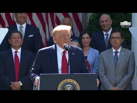 The White House: President Trump Signs an Executive Order on the White House Hispanic Prosperity Initiative