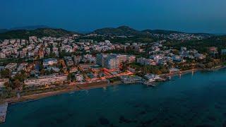 Παραλία Μικρό Καβούρι & Divani Apollon Palace & Thalasso | Aerial Video