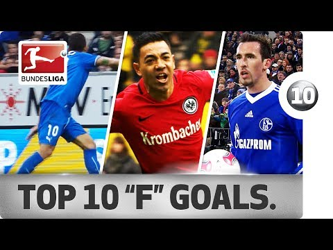 """Forsberg, Firmino, Fabian & More - Top 10 Goals - Players With """"F"""""""
