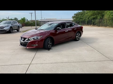2018 Nissan Maxima Fayetteville, Fort Smith, Bentonville, Conway, Muskogee 7949