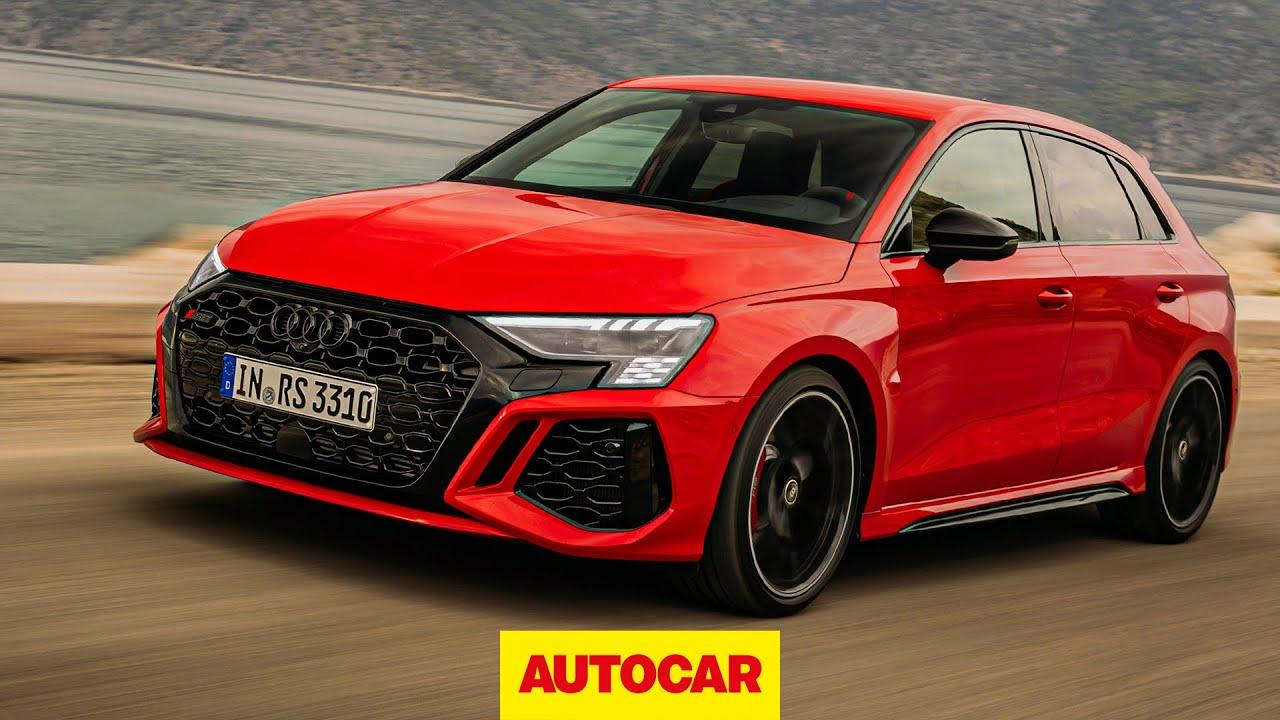 New Audi RS3 2021 review | The £60k, 180mph, 395bhp A3! | Autocar - Autocar