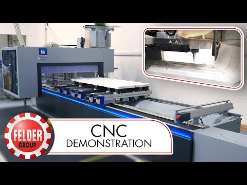 FORMAT-4 profit H500 CNC Machine: Sizing and Featuring a GRP Door (in Real Time)