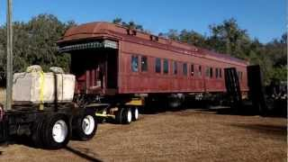 pullman car monte rosa trucked from orlando church street station to frrm parrish fl