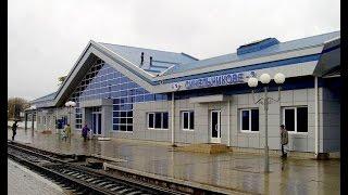ж/д станция Синельниково-2. с кабины локомотива ВЛ8.