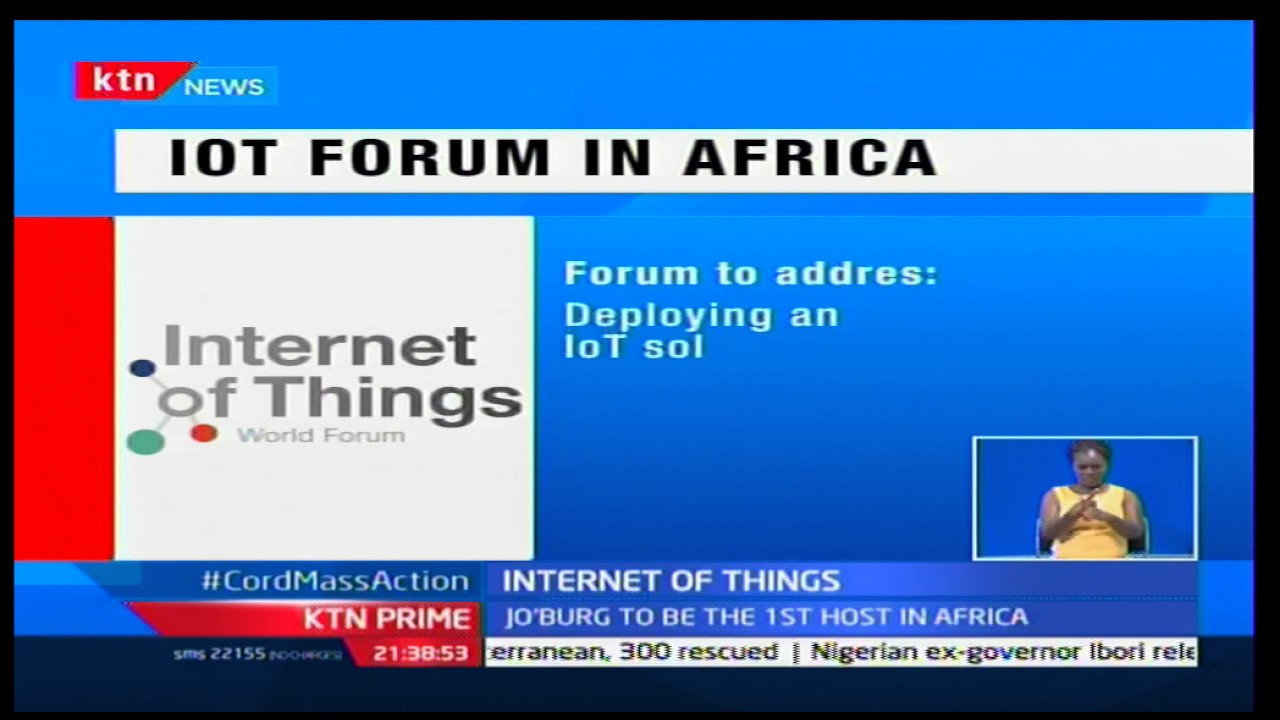 'Internet of Things' forum to be hosted by Kenya to help entrepreneurs showcase products