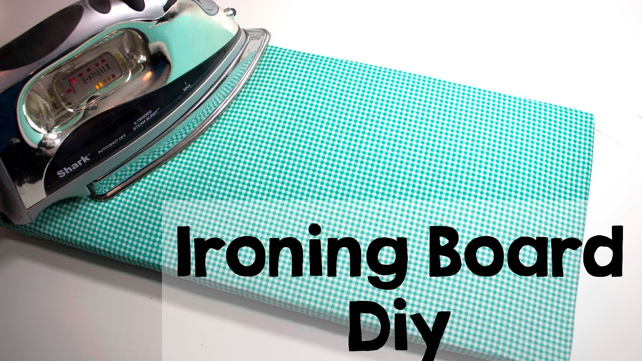 Diy Make Your Own Ironing Board Youtube