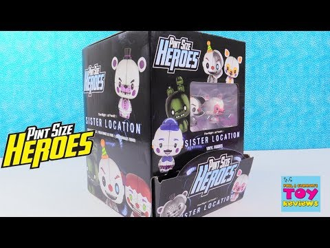 Sister Location Funko Pint Size Heroes Five Nights At Freddys Toy Review | PSToyReviews
