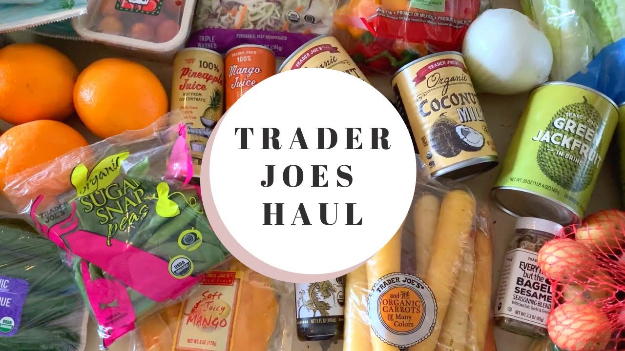 TRADER JOE'S HAUL: Chatty Vlog, Downtown Brooklyn, BBQ Pulled Jackfruit Sandwiches