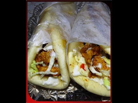 Chicken Shawarma Roll World Famous Chicken Recipe Street Food