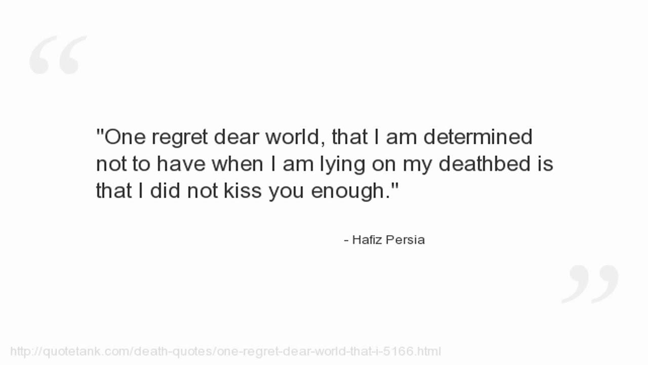 Hafiz Persia Quotes You