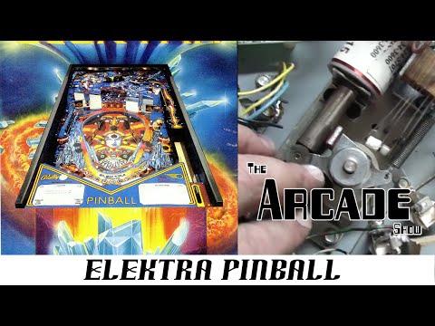 Rebuilding A Flipper On A 1981 Elektra Pinball From Bally