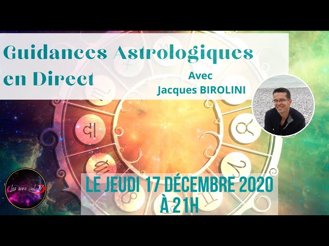 🌜🌖🌗🌕🌍🪐🌍🌓🌔🌛Guidances astrologiques en direct avec Jacques Birolini