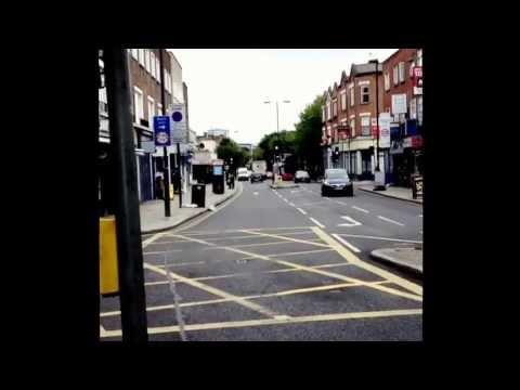 Random London streets from holloway to marylebone road cycling