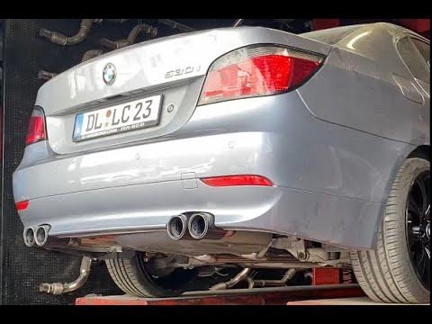 BMW E60 5.30 KUMANDALI VAREX EGZOZ SESİ, BODYKİT, KALİPER VE JANT BOYAMA