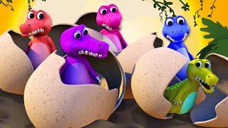 Cinco Cocodrilos Fueron a Nadar y más Canciones Infantiles en 3D | A Bebés Contentos thumbnail