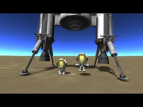 ksp: краткий обзор, постройка и запуск ракеты