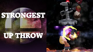 Super Smash Bros. 4 - Who has the strongest Up Throw?