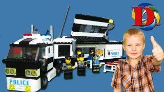 Открываем игрушки машинки Мультик про Машинки Полицейская машина конструктор Обзор Игрушки