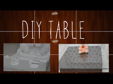 DIY Table | Making Central table at home  in hindi | Creative table ideas | Mouni aka dc