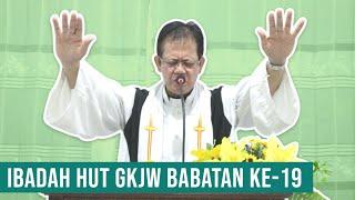 Ibadah HUT GKJW Babatan Ke-19, 20 September 2020 GKJW JEMAAT BABATAN