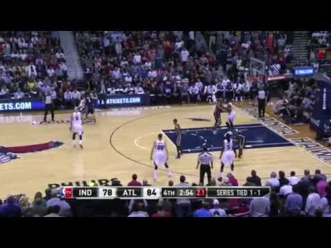 Jeff Teague amazing three-pointer