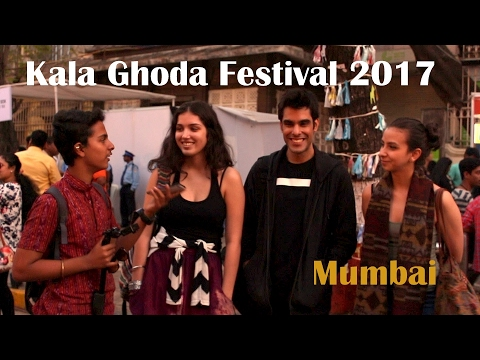 What Foreigners think about Mumbai? | Kala Ghoda Festival 2017