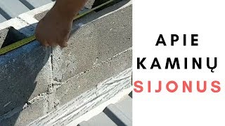 Kodėl ant stogo nesumontuoti kaminų sijonai
