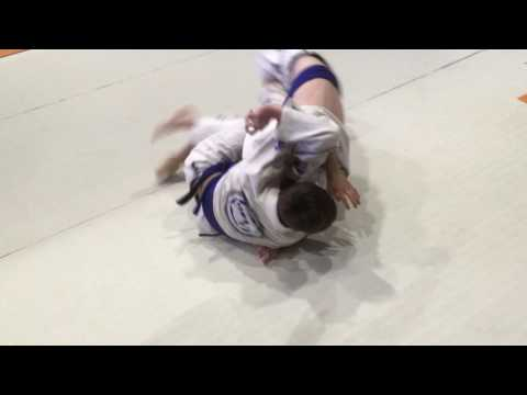 Aiden Thurloe 1st match gi Grappling Industry Sydney
