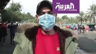 كر وفر اليوم في ساحتي الخلاني والتحرير وسط بغداد