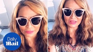 Tina Lawson tells jokes with daughter Beyonce and Blue Ivy - Daily Mail