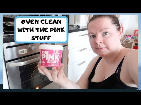 OVEN CLEANING WITH THE PINK STUFF
