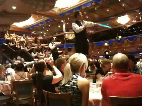 Carnival Victory Dinner Dance July 09  YouTube