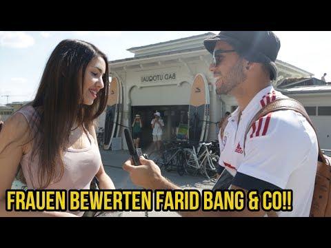 FRAUEN BEWERTEN FARID BANG BUSHIDO & SHINDY!!