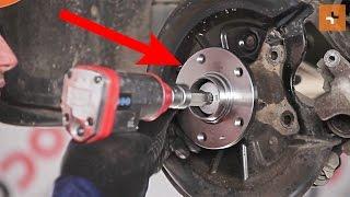 rear and front Wheel bearing kit installation SKODA SUPERB: video manual