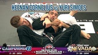 FIVE Grappling California 1: Keenan Cornelius vs Yuri Simoes (Open Gi / BlackBelt / 18+ / Final)