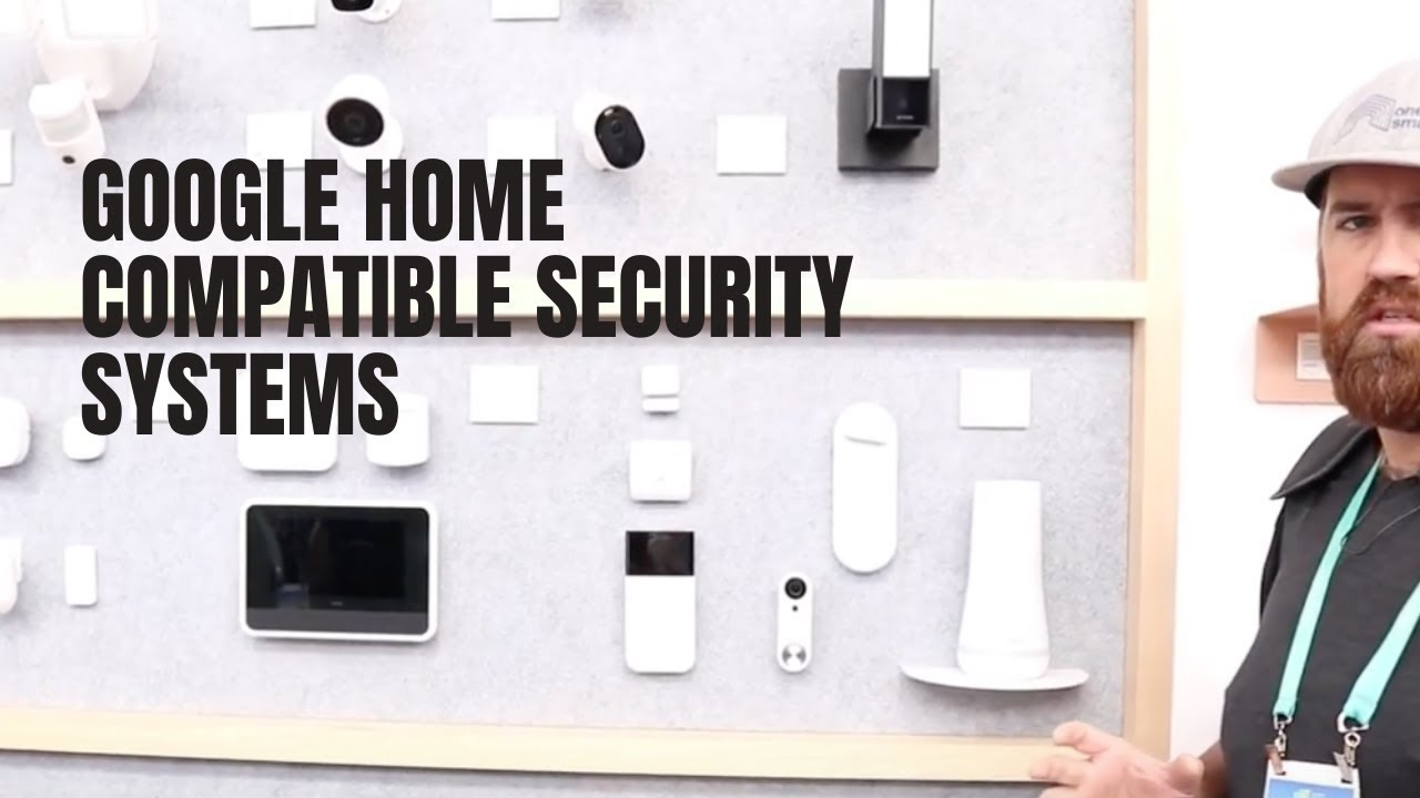 Security System Compatible With Google Home Online Shopping