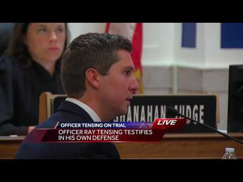 Watch: Ray Tensing's emotional testimony in murder trial